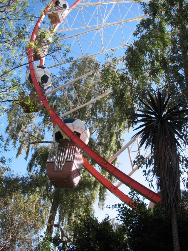 The Ferris Wheel at Gold Reef City. © Colline Kook-Chun, 2012