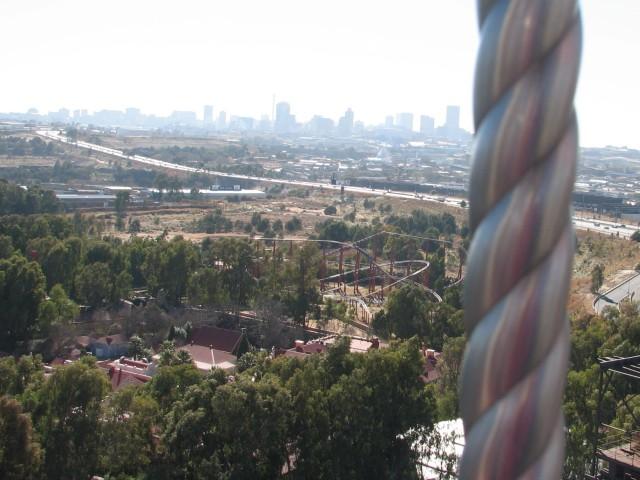 View from a Ferris Wheel. © Colline Kook-Chun, 2012