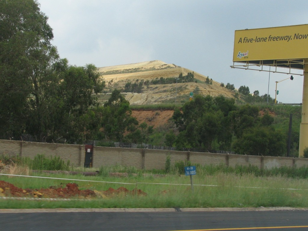 Mine Dumps in Johannesburg