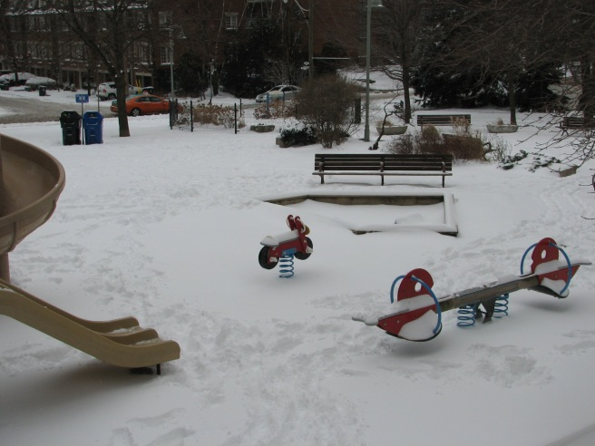 The winter park. © Colline Kook-Chun, 2012