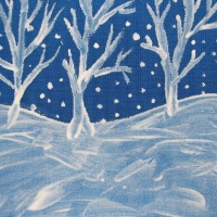 A Painted Winter Scene