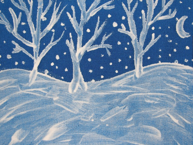A Painted Winter Scene. © Colline Kook-Chun, 2013
