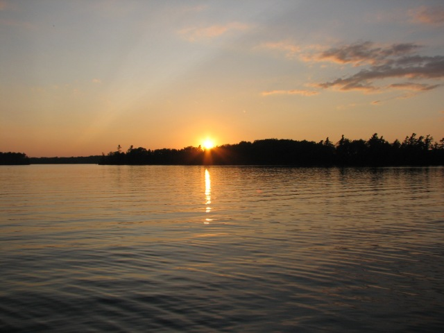 Sunset on the Lake