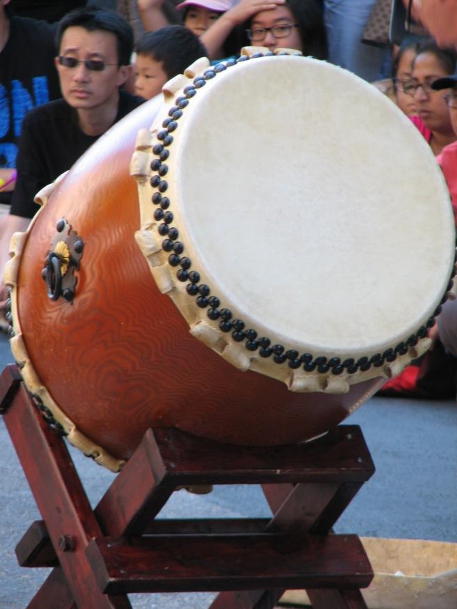 A Japanese drum. © Colline Kook-Chun, 2014