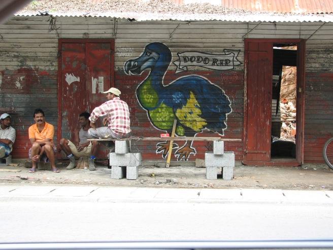 A Mauritian Street Scene. © Colline Kook-Chun, 2014