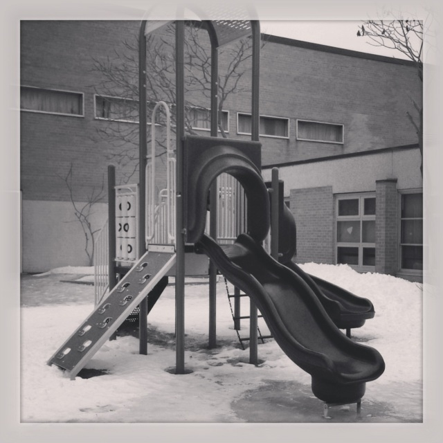 Unused Playground. © Colline Kook-Chun, 2014