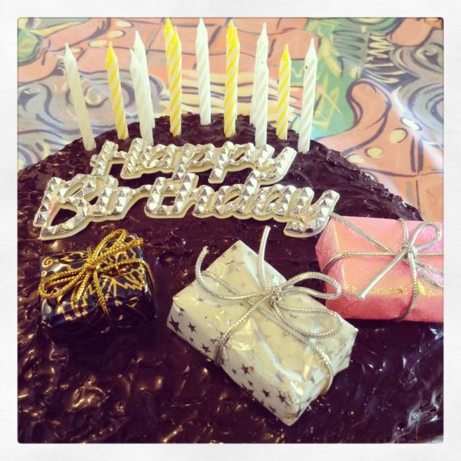 A birthday Cake. © Colline Kook-Chun, 2014