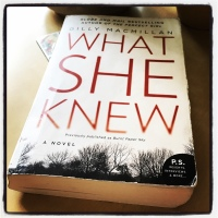 Book Review: What She Knew by Gilly MacMillan