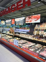Loved the deli display at the supermarket.