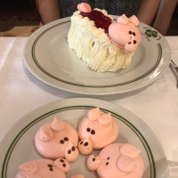 Square in September: A Piggy Dessert