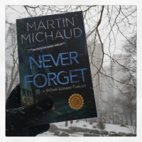 Book Review: Never Forget by Martin Michaud