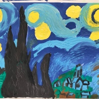 Visual Arts: Inspired by Van Gogh