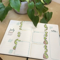 Bullet Journal: July 2020
